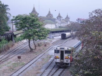 Mein schönster Bahnhof: Yangon in Myanmar