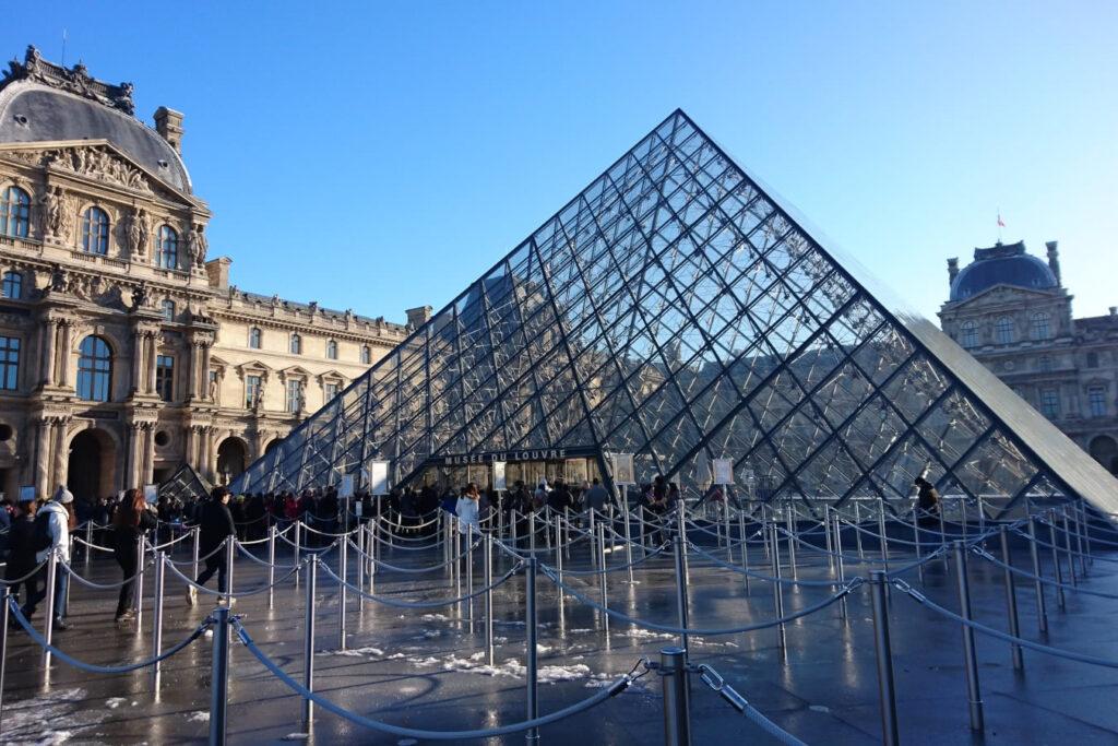 Inspiration: Paris im verschneiten Winter