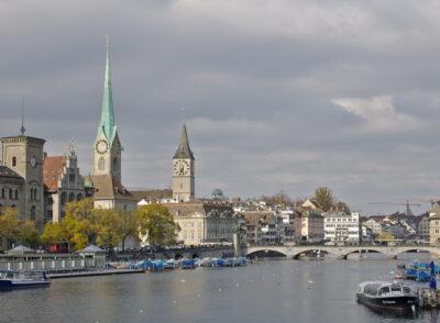 SCHWEIZ: Zürich: 5 Sehenswürdigkeiten & Highlights in der Stadt