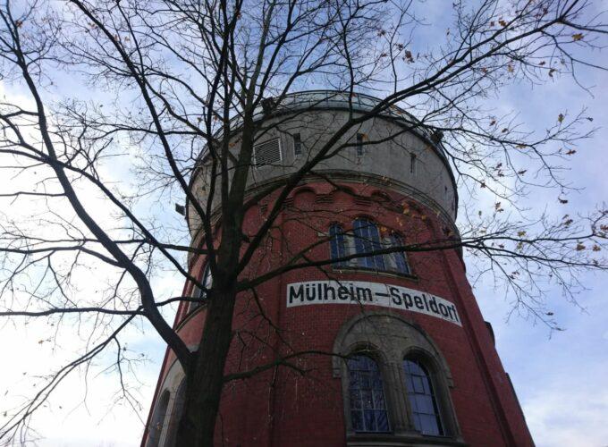 Mülheim an der Ruhr und die drei Türme