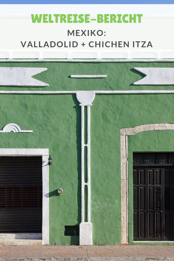 %23Weltreise %23Berichte %23Mexiko %23Valladolid Weltreise: Valladolid und Chichén Itzá – Eines der neuen 7 Weltwunder Nach den ersten Tagen in Mexiko ging es von Tulum weiter nach Valladolid – ein kleines Städtchen im Landesinneren. Hier liegt auch der ideale Ausgangspunkt für eine Fahrt zur Maya-Ruine Chichén Itzá, einem der neuen sieben Weltwundern. Außerdem hatten wir geplant noch eine Cenote in Valladolid zu besuchen. ...