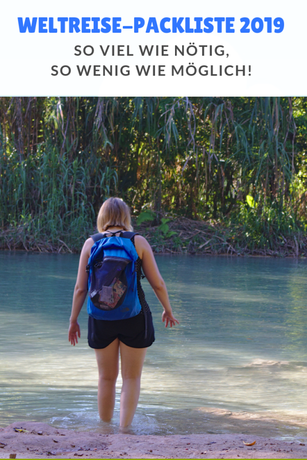 %23Packliste %23Reisevorbereitung %23Weltweit Packliste für unsere Backpacking-Weltreise 2019 Zeige mit deine Packliste (oder deinen Reiserucksack) und ich sage dir wer du bist. So oder so ähnlich könnte man deinen Reisestil - und was dir auf Reisen wichtig ist - erraten. Unsere (nachfolgende) Weltreise Packliste sagt so vermutlich auch einiges über uns aus. ...
