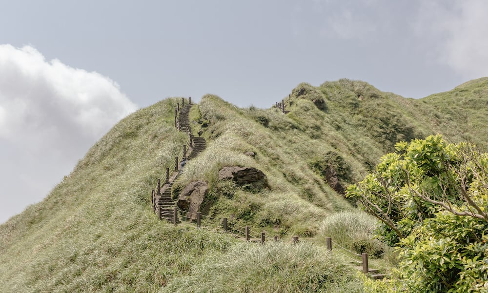 Taipei Wandern Yangmingshan-Nationalpark