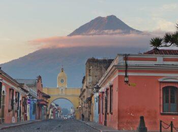 Weltreise: Die alte Hauptstadt Antigua