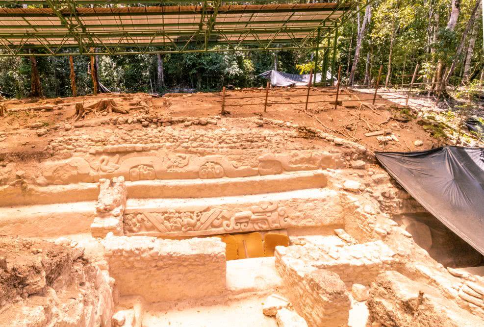 El Miradors Verzierungen Die Verzierungen sind immerhin bis zu 3000 Jahre alt