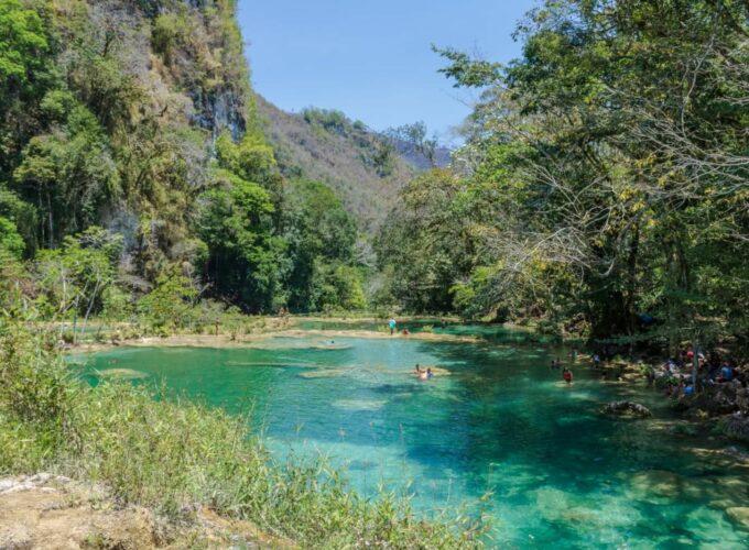 Weltreise: Wasser und Wald – Semuc Champey, Flores und El Mirador