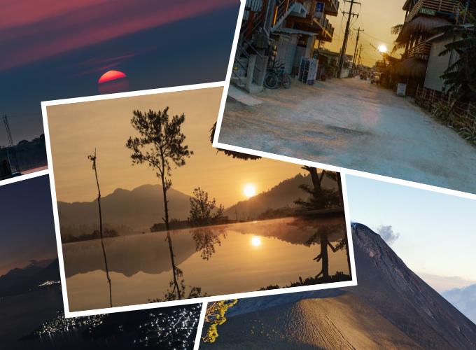 Mittelamerika: Schönste Spots für Sonnenaufgänge & -untergänge