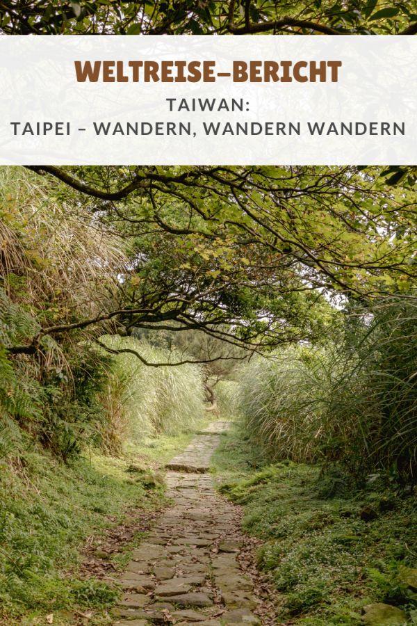 %23Asien %23Metropolen %23Wandern %23Weltreise %23Berichte %23China %23Taipei %23Taiwan Weltreise: Taipei – Wandern, wandern, wandern Nicht nur in der Stadt hat Taipei so einiges zu bieten. Auch Außerhalb des dicht bewohnten Gebietes gibt es viel zu entdecken. So entschlossen wir uns den Yangmingshan Nationalpark direkt vor der Stadt zu besuchen. Das man in Taipei gar nicht so leicht an Wanderwegen vorbeikommt, erkannten wir in diesen Tagen auch. Man muss sich schon ganz schön anst...