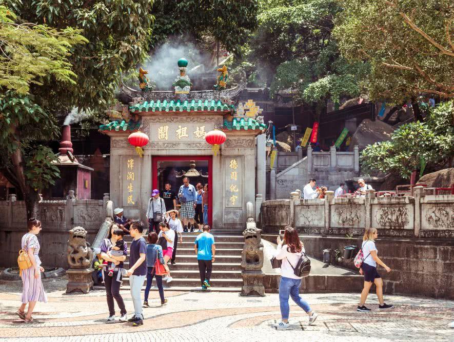 A Ma Tempel – Der Namensgeber von Macau