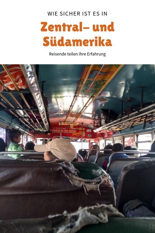 %23Reisevorbereitung %23WeitereLänder %23Belize %23Guatemala %23Mexiko %23Peru Wie sicher sind Zentralamerika und Südamerika? Reisende erzählen… Wie sicher ist das Reisen in den Ländern in Zentralamerika und Südamerika? Wie hat sich eine alleinreisende Frau in Guatemala gefühlt? Wir war es als Familie durch Kolumbien zu reisen? Und welche Sicherheitsvorkehrungen trifft man, wenn man mit dem Fahrrad und Zelt durch Mexiko reist? Verschiedene Menschen mit unterschiedlichen Rei...