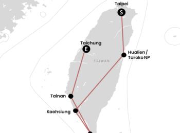 KROATIEN: Unsere Backpacking-Route durch Taiwan (+Karte)