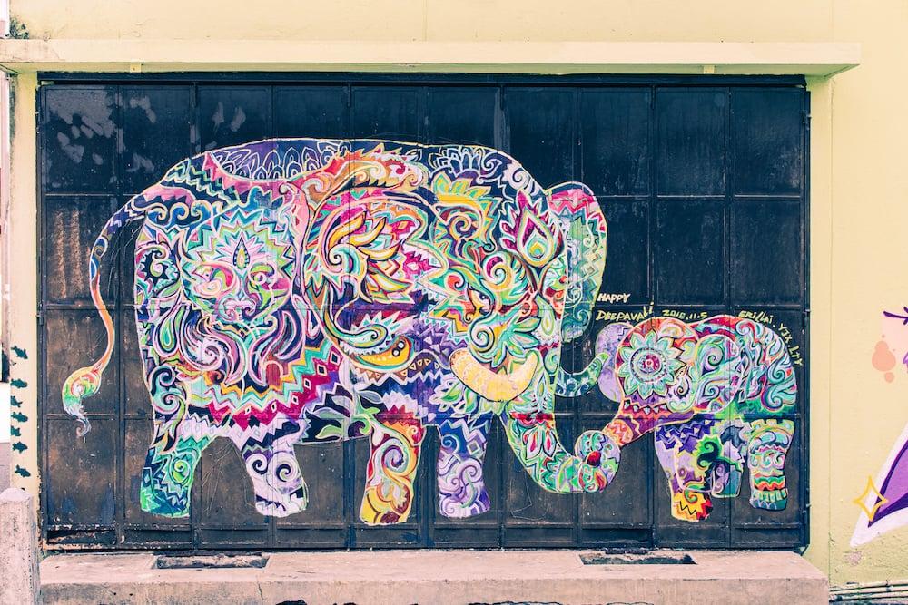 Streetart-Fans werden in Ipoh auf jeden Fall fündig