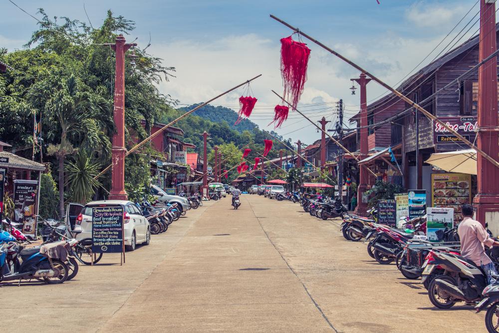 Koh Lantas Sehenswürdigkeiten die Altstadt Lanta Old Town