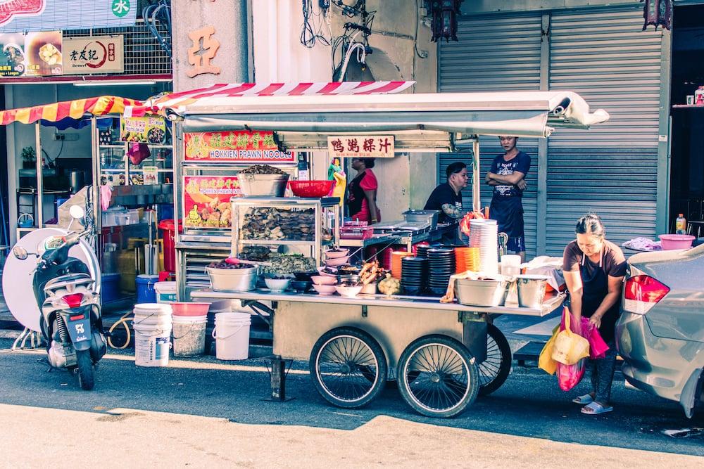 Garküche in Penang