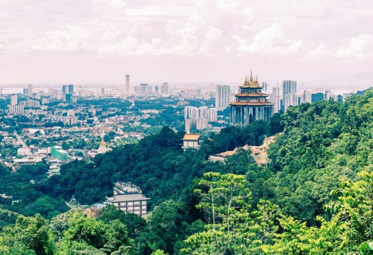 Weltreise: Penang – George Town, Natur und Tempel