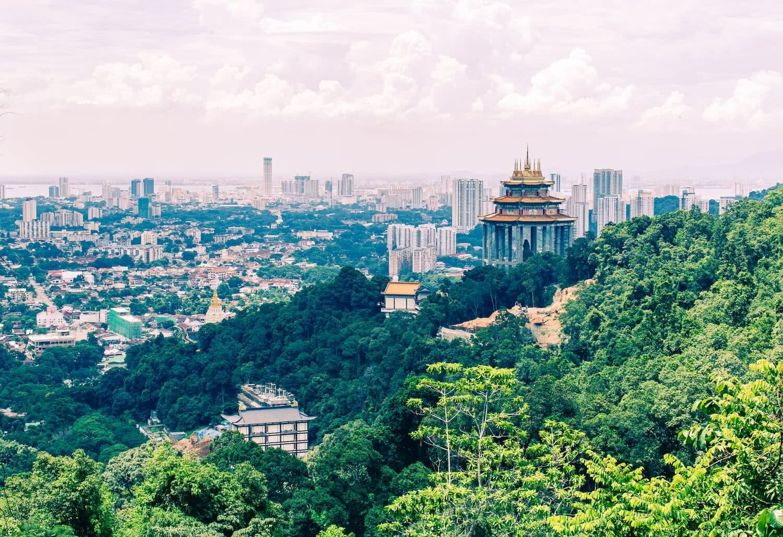 Weltreise: Penang – George Town, Natur und Tempel