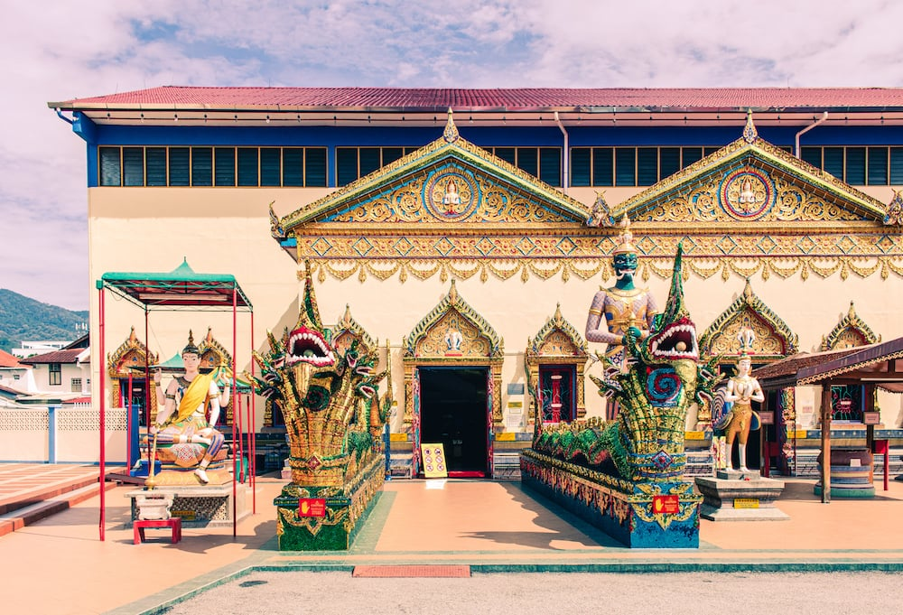 thailändischer Tempel in Penang