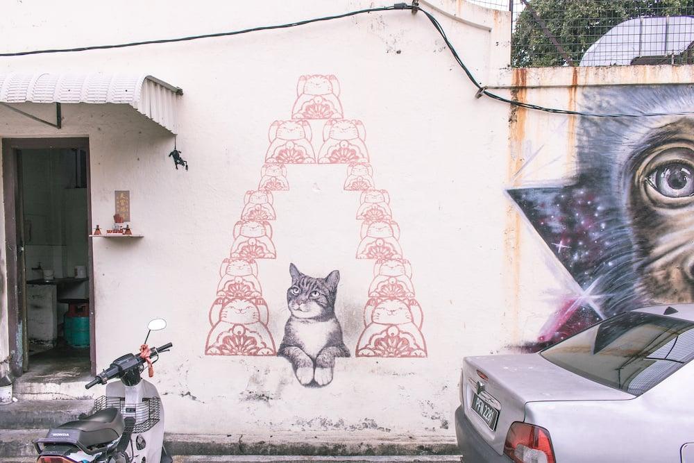 Streetart in George Town, Penang