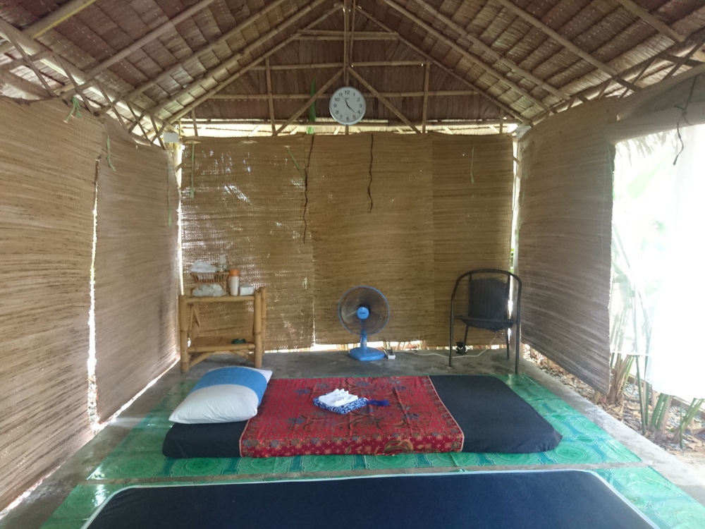 Eine Massage auf Koh Lanta Massageraum