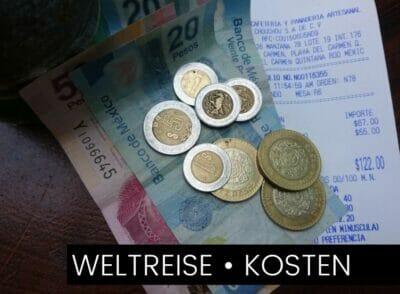 VERSCHIEDENE LäNDER: Alle Ausgaben zu unserer Weltreise und wie wir die Kosten festhalten
