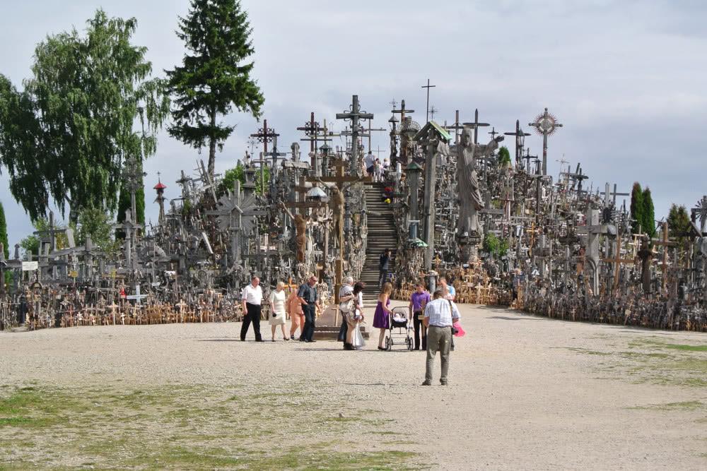 Wallfahrtsort in Litauen - Der Berg der Kreuze