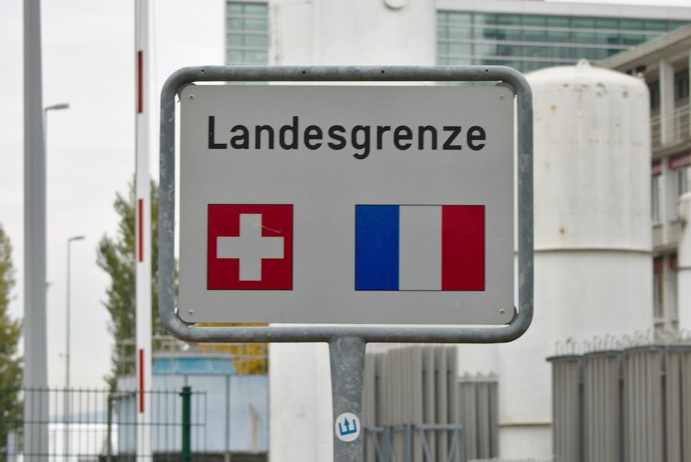 Frankreich liegt nur wenige Gehminuten von Basel entfernt.