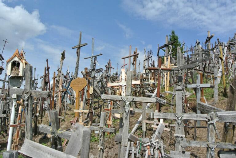 Wallfahrtsort in Litauen – Der Berg der Kreuze