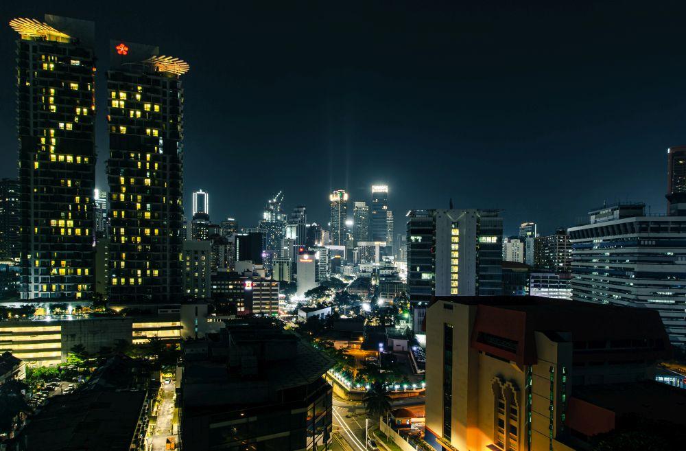 Malaysia Kuala Lumpur Nightskyline
