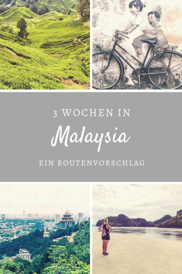 %23Route %23Südostasien %23Weltreise %23Malaysia Unsere Backpacking-Route durch Malaysia Über einen Monat reisten wir durch Malaysia. Von Langkawi aus ging es weiter nach Penang, Ipoh, in die Cameron Highlands, nach Kuala Lumpur und Malacca. Wir reisten langsam und mit wenig Gepäck. Wir finden, dass so einige Highlights auf unserer Reise dabei waren. Unsere detaillierte Route für etwa 2 oder 3 Wochen Malaysia mit weiteren Reisetipps zeigen wir dir hier auf.  ...