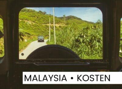 MALAYSIA: Backpacking-Kosten in Malaysia: So viel haben wir ausgegeben