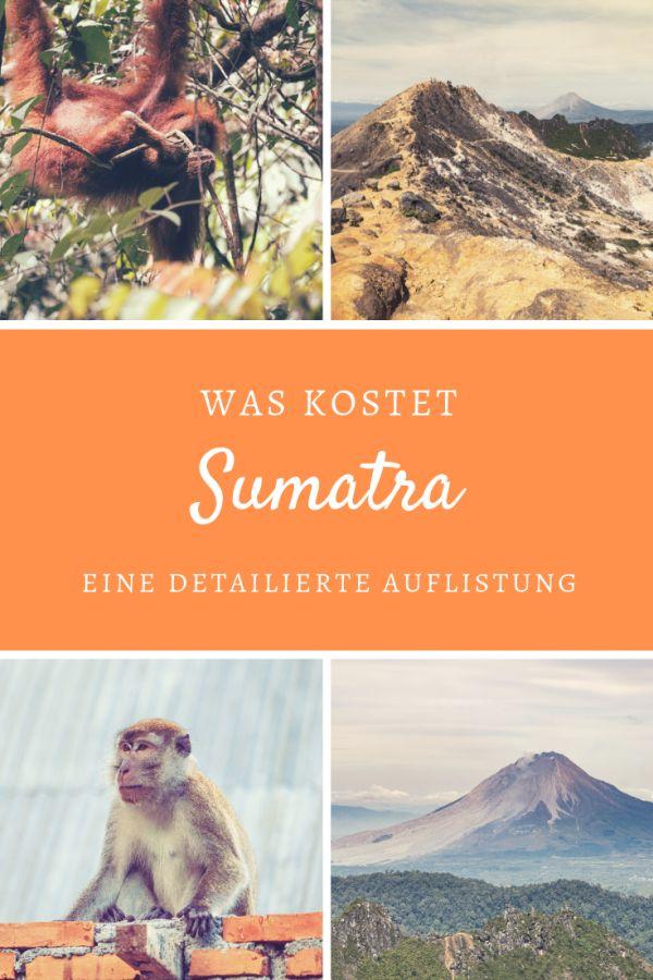 %23Ausgaben %23Weltreise %23Sumatra %23Indonesien Backpacking-Kosten auf Sumatra: So viel haben wir ausgegeben Was kostet eine Reise nach Sumatra? Wir sind in 23 Tagen vom Norden in den Westen gereist und haben alle Details zu unseren Ausgaben festgehalten. Im Rahmen unserer Weltreise reisen wir mit kleinem Budget. Als das bisher günstigste Reiseland auf unserer Weltreise. Denn pro Person und Tag gaben wir 16,42 Euro aus. Erfahre hier alle Kosten zu unseren Unterkünften, Restaurant-B...