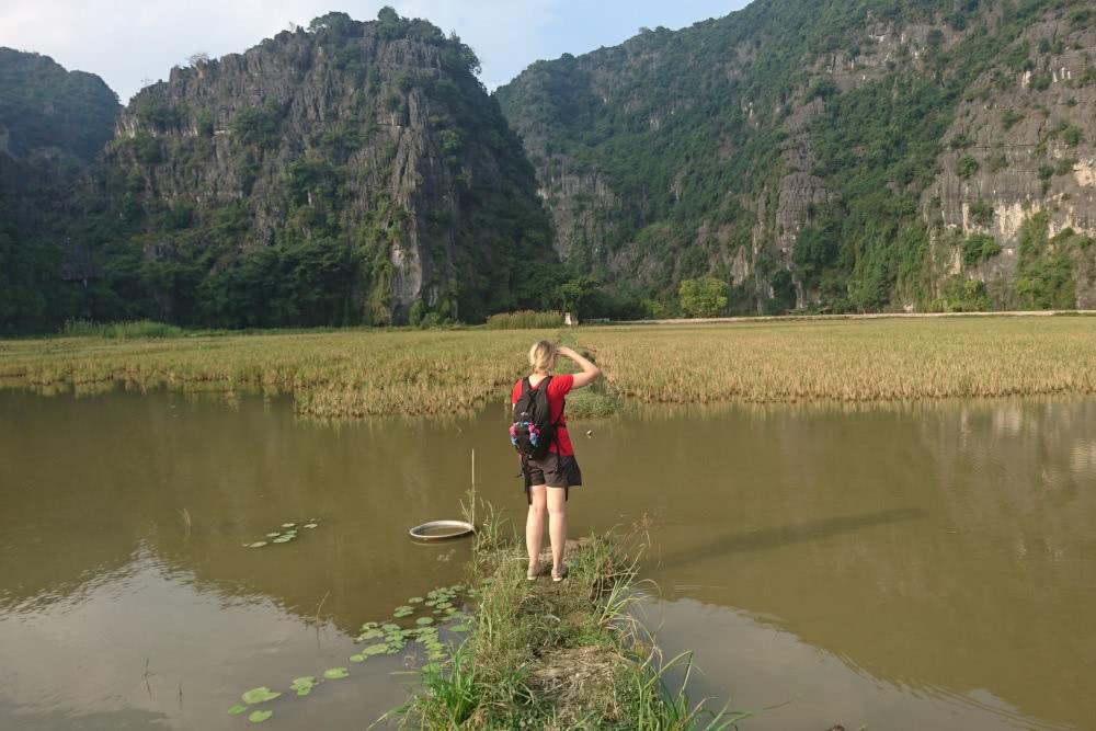 Der sehenswerte Fluss Tam Coc in Vietnam