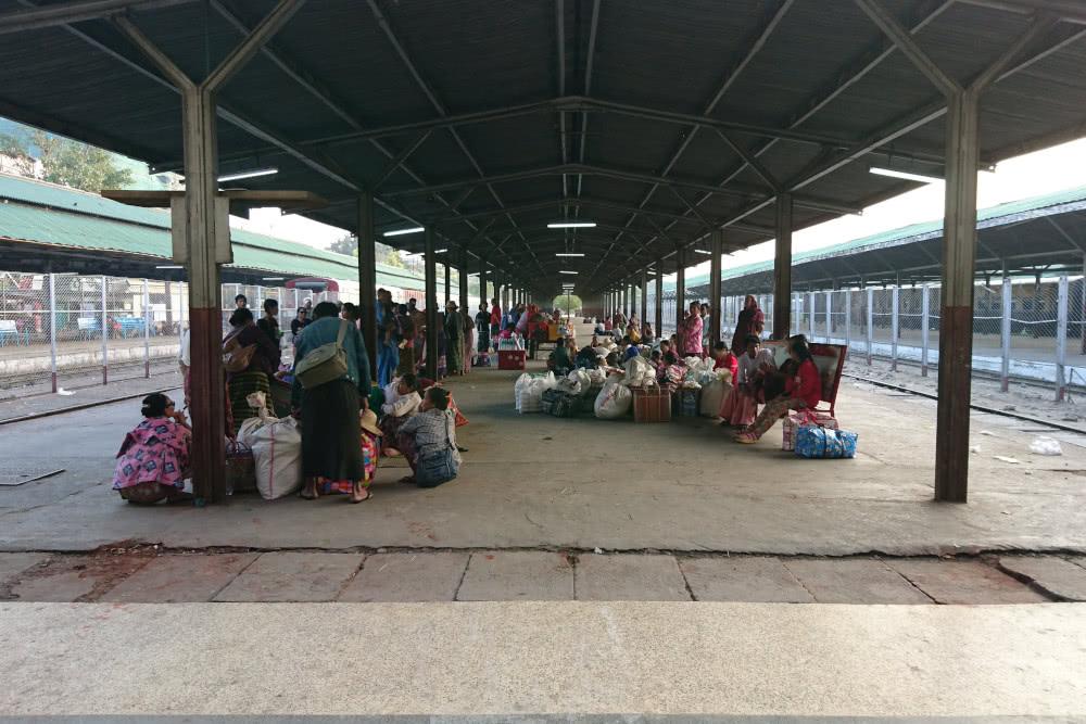 Mein schönster Bahnhof: Yangon in Myanmar 5