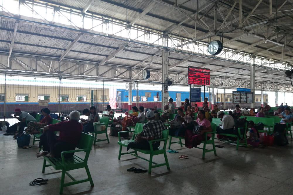 Mein schönster Bahnhof: Yangon in Myanmar 3