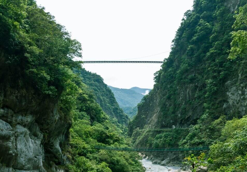 Taiwan Die Taroko-Schlucht bei Hualien