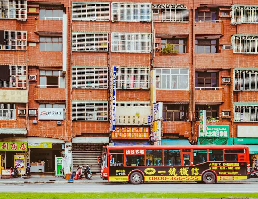 Taiwan Viele Hochhäuser findet man in Taichung
