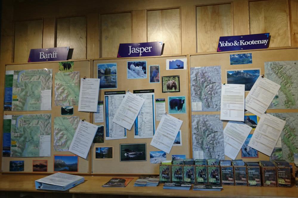 Kanda-Nationalpark-Besucherzentrum Hinweise zu Bärenbegeggnungen