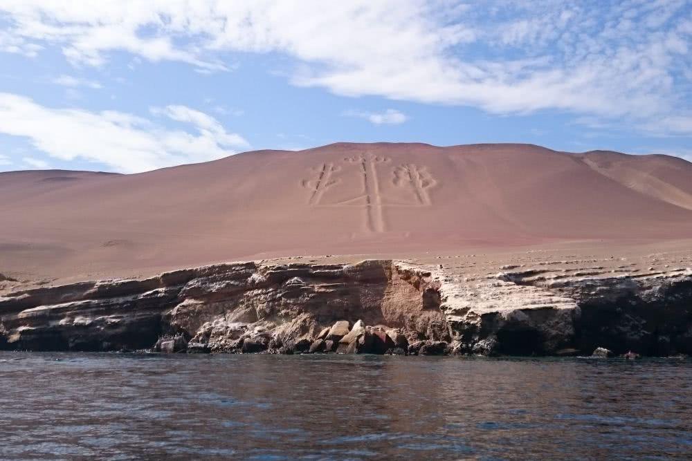 Peru Islas Ballestas und Paracas Hinterlassenschaften der Paracas-Kultur