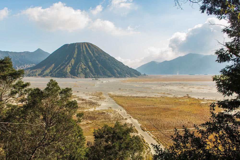 Indonesien Insel Java Aussicht auf den Vulkan Bromo