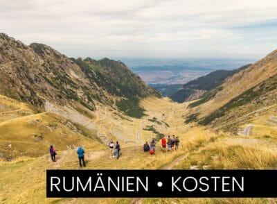 RUMäNIEN: Was kostet eine Rundreise mit Mietwagen durch Rumänien?