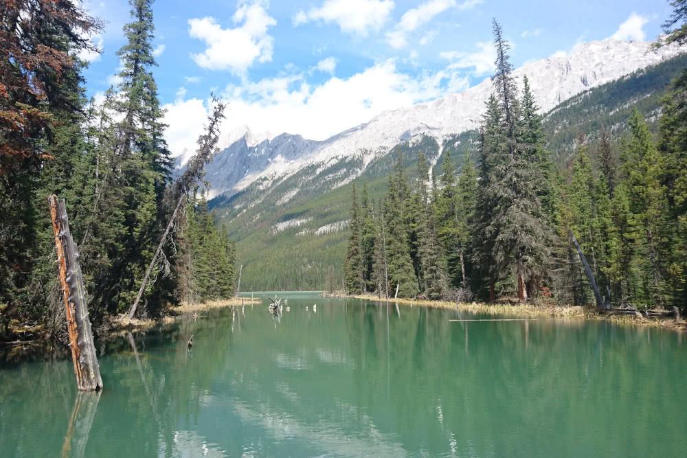 Sehenswürdigkeit Der Biebersee beziehungsweise Beaver Lake ist ein Geheimtipp