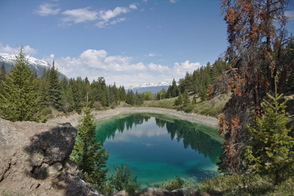 Wanderparadis Kanada Zwischen den Nationalparks Jasper und Banff liegt das Tal der fünf Seen