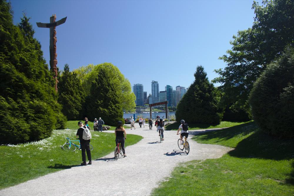 Kanadas Metropole Der grüne Stanley Park in Vancouver