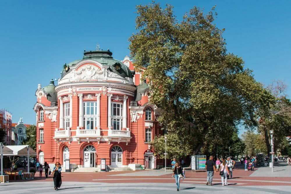 Sehenswürdigkeit Varna Theater und Oper