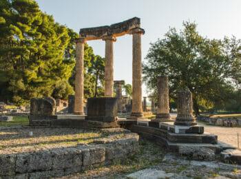 GRIECHENLAND: Antikes Olympia in Griechenland: Sehenswertes & Reisetipps