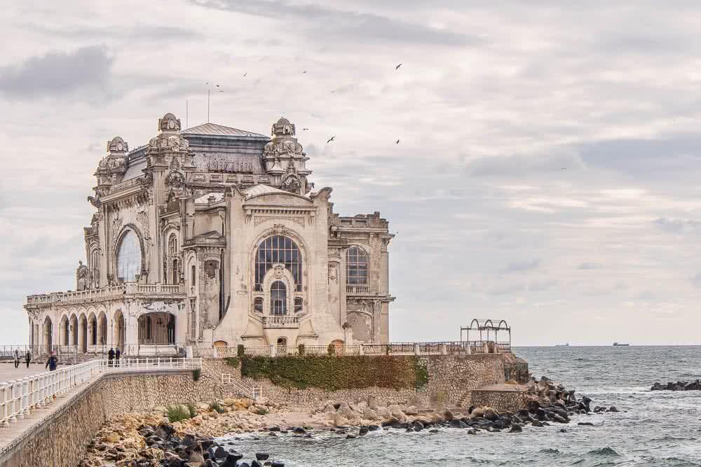 Europas schönste Fotos von Reisezielen: Constanta in Rumänien Casino-Ruine
