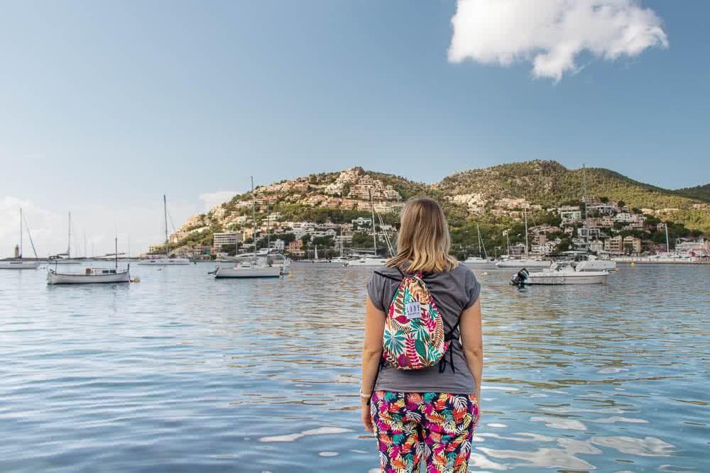 Europas schönste Reisefotos Der Hafenort Andratx auf Mallorca schillert in vielen Farben