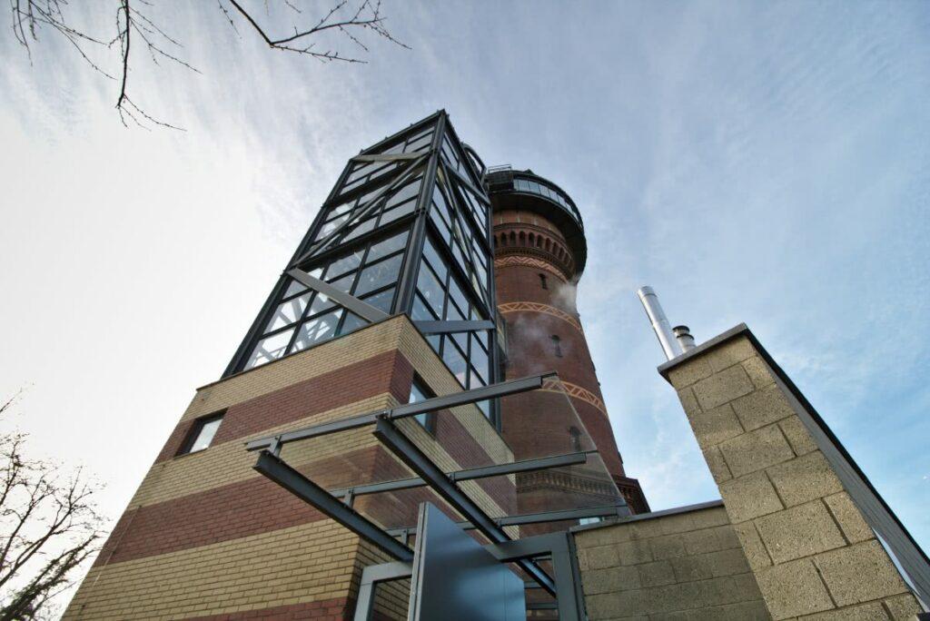 Heute ist der Turm ein Museum