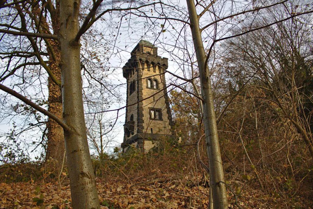 ...ist der Bismarckturm ein Aussichtspunkt.