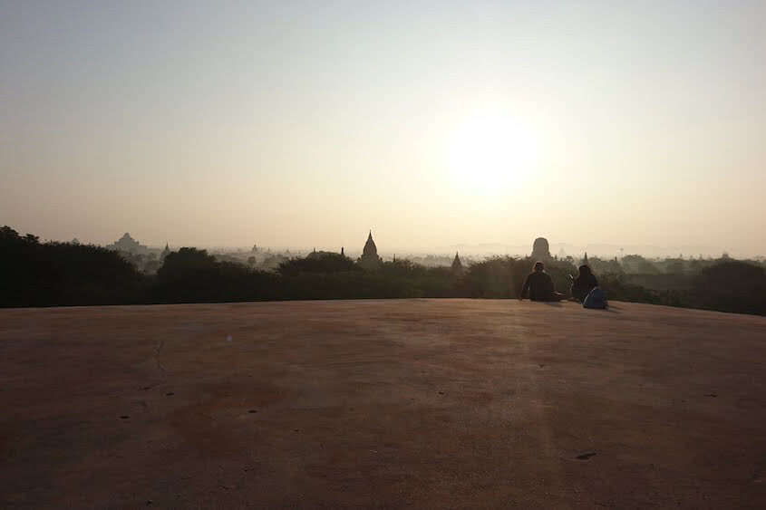 Myanmar Highlight Old Bagan zum Sonnenaufgang
